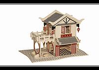 3D пазл домик (3 доски), фото 1