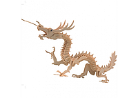 3D пазл дракон (4 доски), фото 1