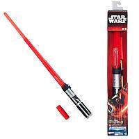 Звездные войны электронный световой меч Дарта Вейдера красный (звук, свет). Оригинал Hasbro