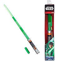 Звездные войны электронный световой меч Люка Скайуокера (звук, свет). Оригинал Hasbro