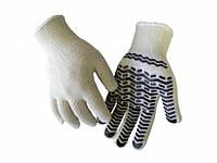 Перчатки Werk WE2103 (х/б с резиновым вкраплением, белые)