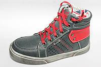Демисезонные ботинки для мальчиков от бренда Clibee разм (с 32-по 37)