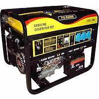 Бензиновий генератор FORTE FG6500E на 5,5 кВт. 220 V