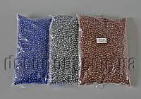 Бусы металлизированные 6 мм 500 гр