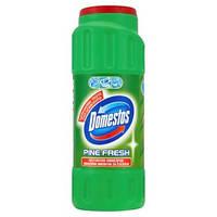 Domestos антибактер. чистящий порошок для ванной Сосна, 450 г