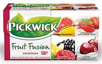Pickwick чай черн. ассорти (грейпфрут, клубника, малина, вишня), 20 шт.