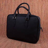 Кожаная мужская деловая сумка Valenta