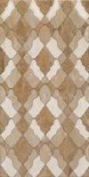 Плитка декор настенная BELANI Florence brown 25 x 50