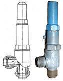 Клапан предохранительный 17с11нж Ду-25 Ру-1,6 МПа