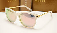 Женские солнцезащитные очки Gucci 6104 перламутр , фото 1