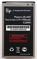 Аккумуляторная  батарея Original для мобильного телефона Fly DS123 (BL4007) 1500mAh