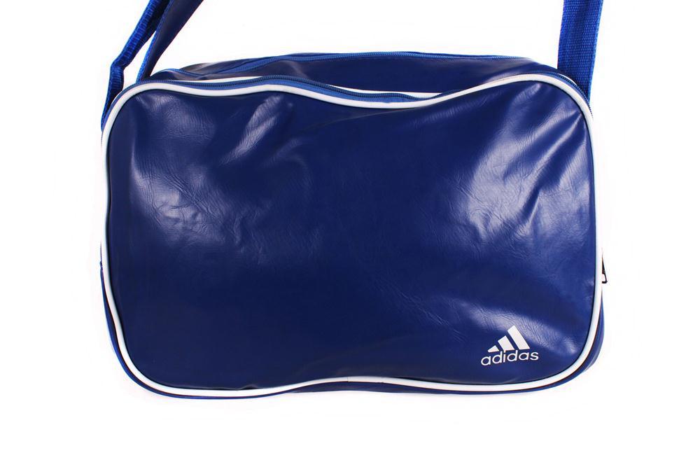Объёмная сумка синего цвета