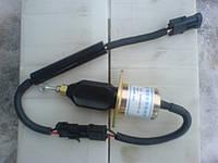 Соленоид-глушилка для самосвалов HOWO ZZ 3257, ZZ 3317 WD615