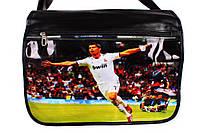 Сумка спортивная с обложкой Cristiano Ronaldo, фото 1