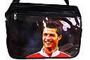 Спортивная сумка для школы с фото известного футболиста