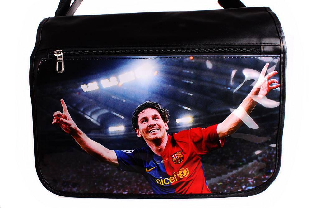 Качественная сумка через с фото Messi