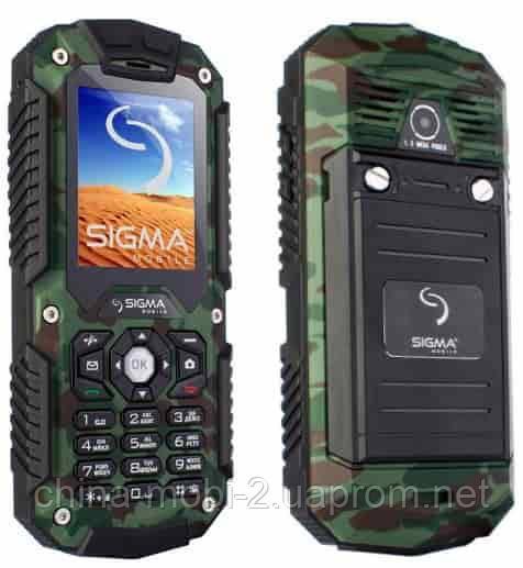 Телефон Sigma X-treme IT67 Khaki