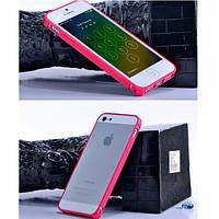 Чехол Remax Screw Metal border для iphone 5/5S красный