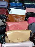 Женская сумка клатч 1606 разного размера золотистый, темно-серебристый, белый, коралловый