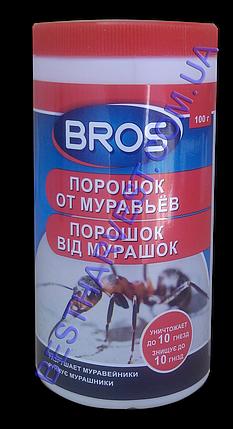 Порошок от муравьев Брос (Bros) 100 г, оригинал, фото 2