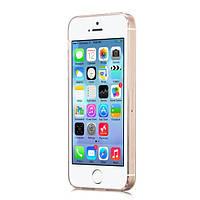 Чехол Hoco Light Series TPU для iPhone 5/5S золотой