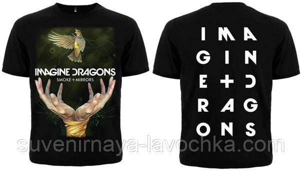 "Футболка Imagine Dragons ""Smoke+Mirrors"""