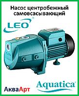 LEO Насос центробежный самовсасывающий XJWm/15M (однофазный)