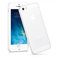 Чехол Hoco Light Series Frosted TPU для iPhone 5/5S белый
