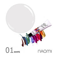 Гель-паста Naomi Gel Paint 01 White