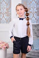 Блуза школьная подростковая №1006 (р.140-164)