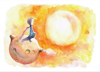 """Почтовая открытка """"Принц и Солнце"""", фото 1"""