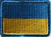 Флаг Украины 5*3,5см