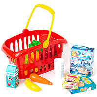 Набор корзина супермаркета с товарами Орион (362.в.2)