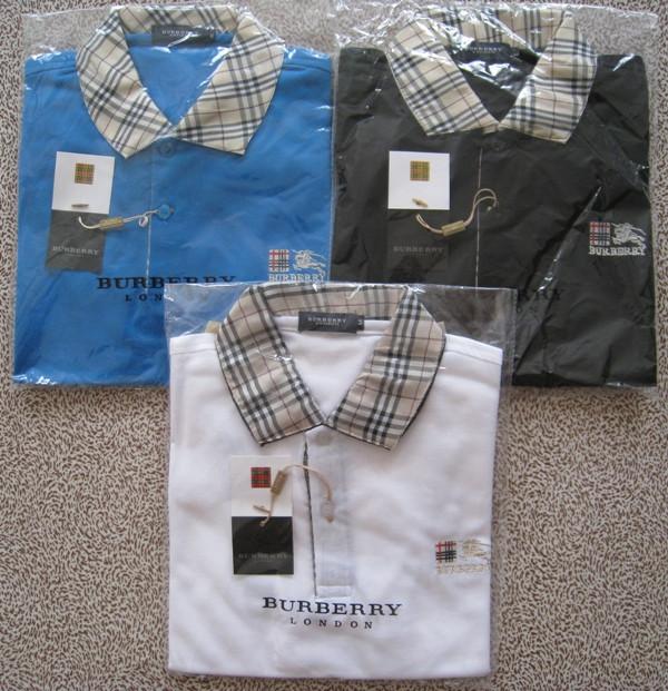 BURBERRY London мужская футболка поло барберри купить в Украине