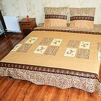 Постельное белье  - абстакция леопардовая    !