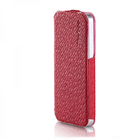 Кожаный Чехол Yoobao Fashion для iiPhone 5/5S rose red, фото 1