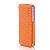 Кожаный Чехол Yoobao Fashion для iiPhone 5/5S orange