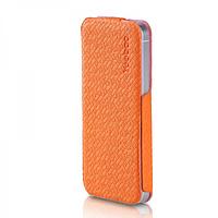 Кожаный Чехол Yoobao Fashion для iiPhone 5/5S orange, фото 1