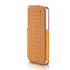 Кожаный Чехол Yoobao Fashion для iiPhone 5/5S yellow