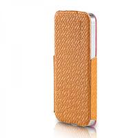 Кожаный Чехол Yoobao Fashion для iiPhone 5/5S yellow, фото 1