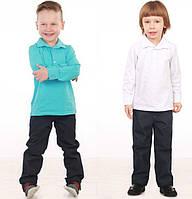 Трикотажная рубашка для мальчика (р.98-128)