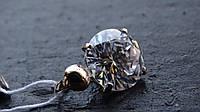 Подвеска серебряная с Золотой пластиной