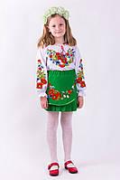 Красивая детская вышитая рубашка  (О.Л.С)