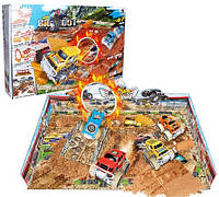Детский трек с джипами и песком 8888-26