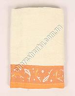 Махровое банное полотенце 675 Бежевый