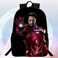 Рюкзаки с 3D принтом Железный человек комиксы Marvel Марвел