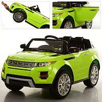 Детский электромобиль джип M 2398 EBR-5 Range Rover, открывающиеся двери + мягкие колеса