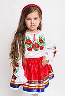 Детская вышитая блуза с длинным рукавом (О.Л.С)