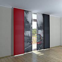 Японские фото шторы Биг-Бен