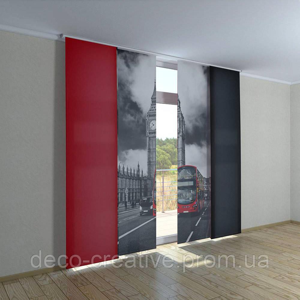 Японские фото шторы Биг-Бен - Интернет магазин deco-creative в Черниговской области
